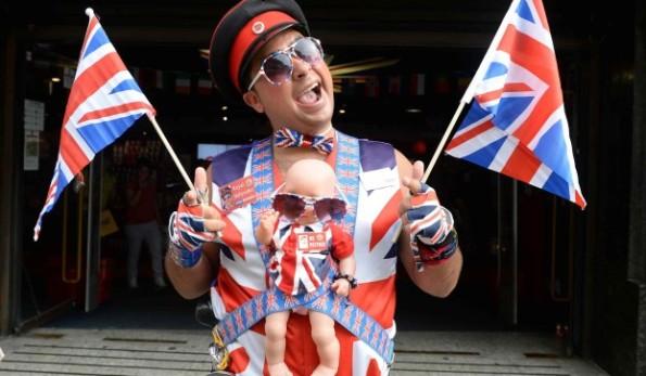 LONDRA: ATTESA PER LA NASCITA DEL - ROYAL BABY -