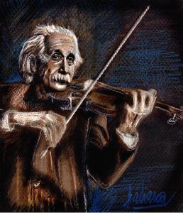 1-albert-einstein-and-violin-daliana-pacuraru