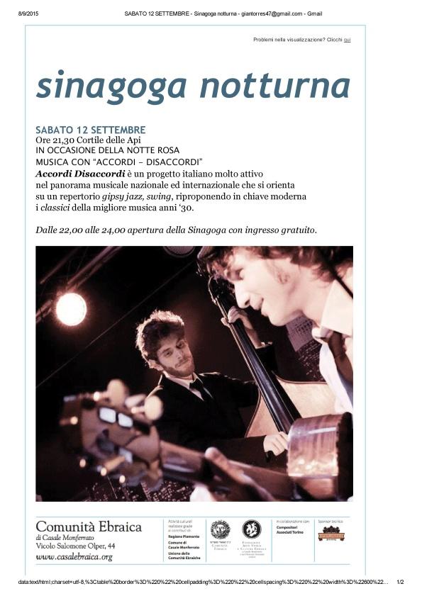 SABATO 12 SETTEMBRE - Sinagoga notturna - giantorres47@gmail_1