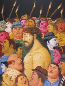 2-Gesu-e-la-moltitudine-botero-via-crucis