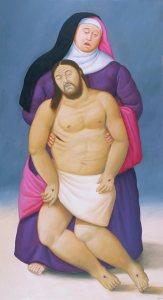 5-Maria-e-Gesu-morto-botero-via-crucis