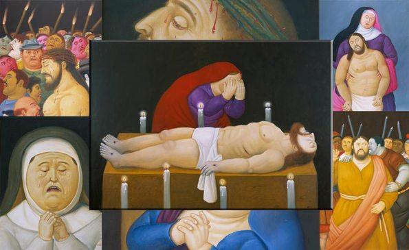 Fernando-Botero-mostra-Via-Crucis-la-passione-di-Cristo-Palazzo-delle-Esposizioni-Roma