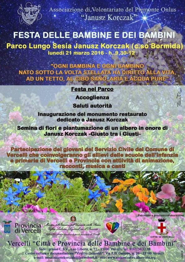 b-a-LOCANDINA-INVITO- FESTA DEI BAMBINI 21 MARZO 2016