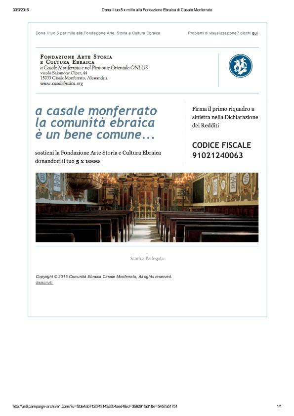 Dona il tuo 5 x mille alla Fondazione Ebraica di Casale Monferrato_1