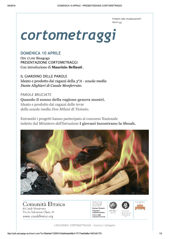 DOMENICA 10 APRILE - PRESENTAZIONE CORTOMETRAGGI_1