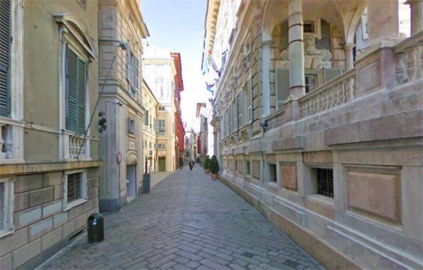 Via Garibaldi a Genova, strade, vicoli, caruggi di Genova, cosa visitare