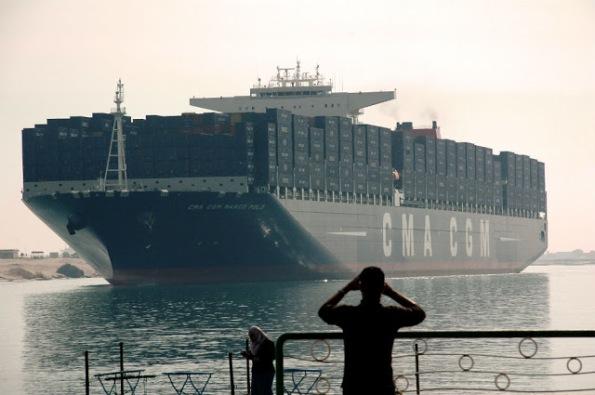 marco polo portacontainer Ismailia-Egitto