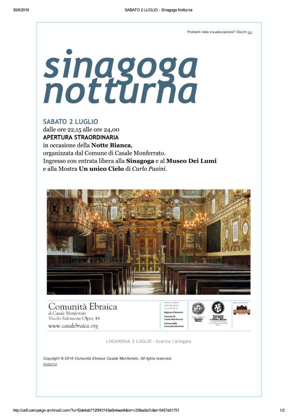 SABATO 2 LUGLIO - Sinagoga Notturna_1